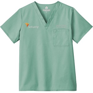 White Swan Fundamentals - Unisex Scrub Top