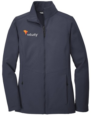 Vituity Women's Port Authority Soft Shell Jacket